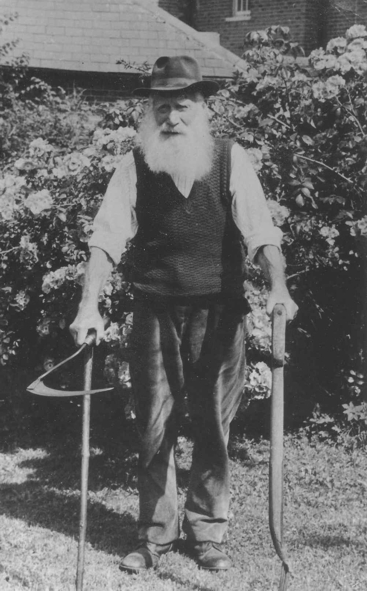 Harry Green, photo from the East Anglian Traditional Music Trust